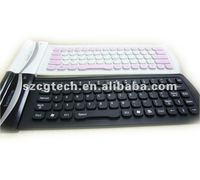 Bluetooth wireless Flexible Keyboard for Ipad and cell phones,waterproof and foldable keyboard