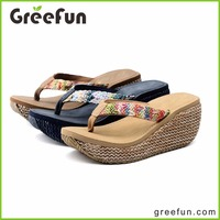 New Designs Sandals Shoes Women Latest Ladies Sandals Designs Wedding Flip Flops In China