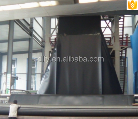 fish farm tank HDPE liner geomembrane used as pond liner