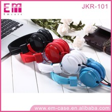 2017 Hot Selling New Plug-in Cable Stereo Headphone,Candy Color Silent Disco Headphone