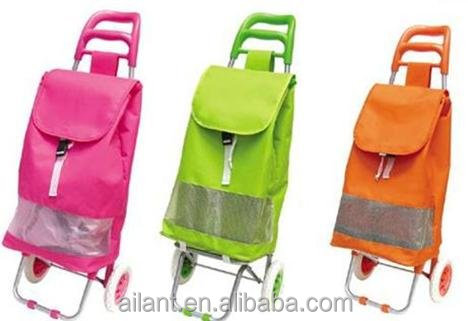 trolley shopping wheels bag with chairs folding replacement backpack
