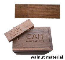 paypal accept walnut material bulk 1gb 2gb 4gb 8gb 16gb 32gb usb flash drives, flash drive usb