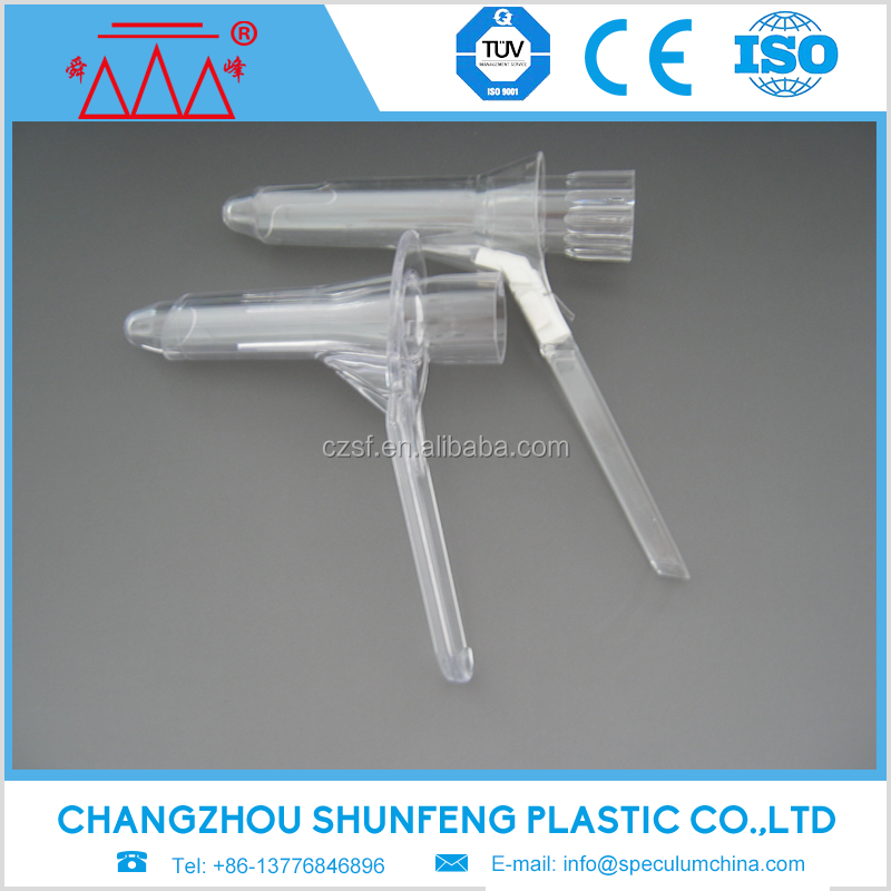 plastic vaginal speculum cusco type sizes CE ISO