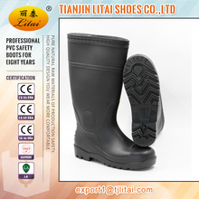 Safety shoes manufacturer Black mining industry steel toe cap shoes CE20345:2004 water proof safety footwear competitive price