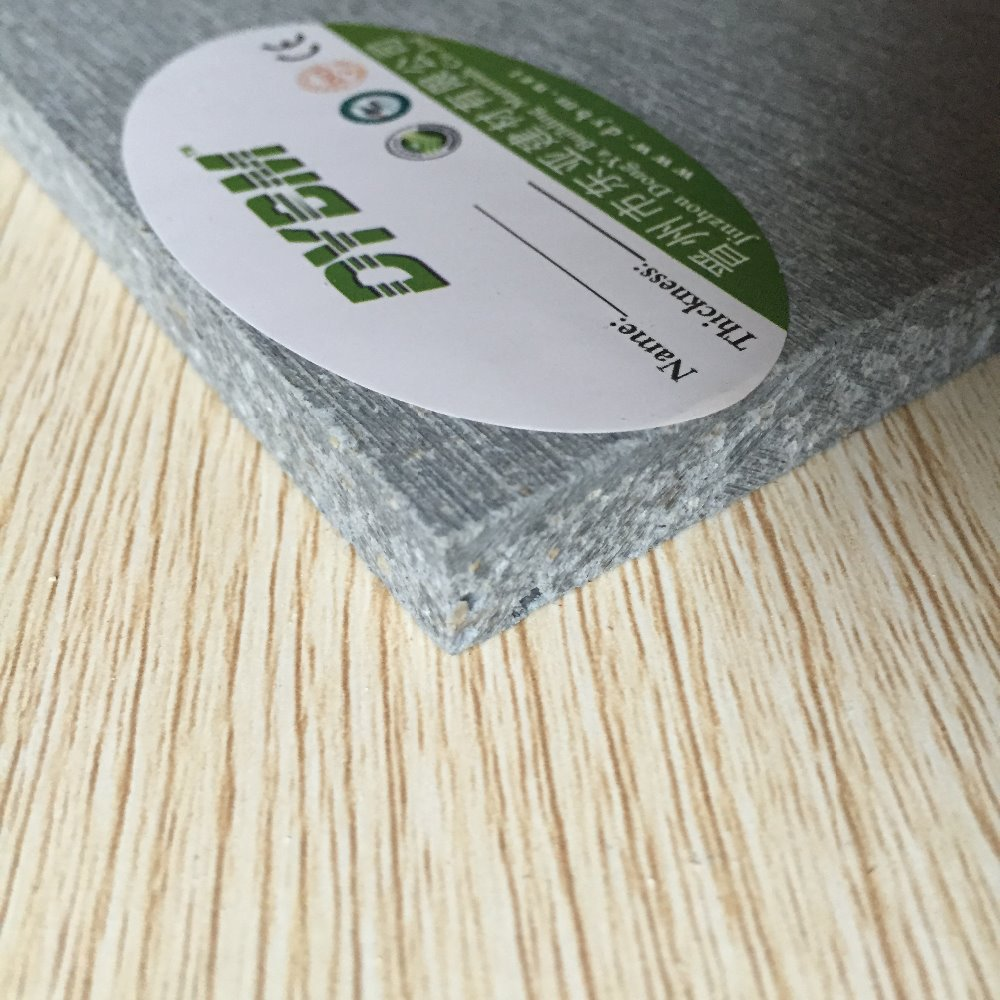 3mm to 20mm Fireproof MGO Board/Magnesium Oxide Board/mgo panel white black color