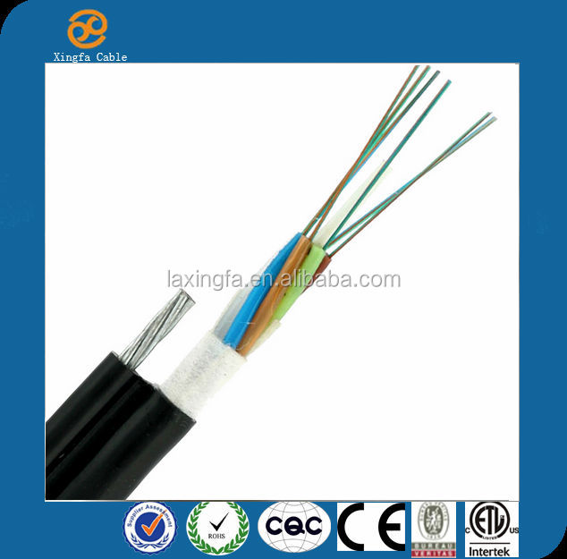 Made in China Factory Price high quality GYFTC8Y Outdoor single mode FRP Self-supporting aerial fiber optic cable