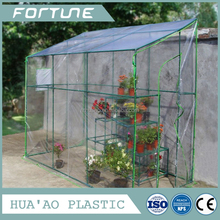 Environment friendly normal transparent plastic film for green house