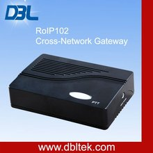 Cross Network VoIP Gateway/radio via internet/audio over internet/RoIP-102