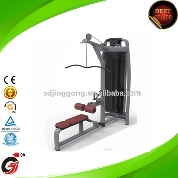 JG-1859 Heavy Duty Power Rack Workout Cage Home Gym - jinggong fitness Lat Pulldown/Low Row - Gym Master
