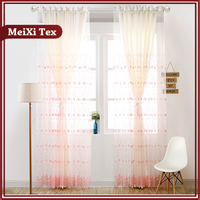 Factory supply attractive price curtain fabric istanbul,turkey embroidery design organza curtain fabric