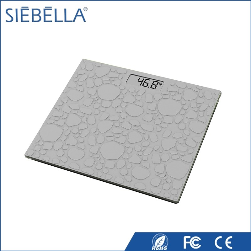 Good-looking anti-slip silicone footmat platform scale electronic 150kg
