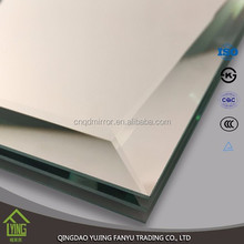 3mm-6mm thick beveled glass mirror for decorative