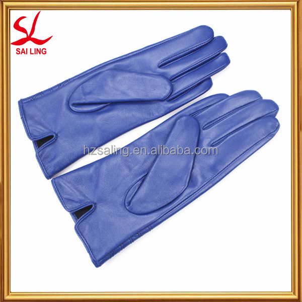 Best Quanlity Softtextile Leather Glove Manufacturer For Girls Christmas Gifts Driver Glove