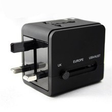 Alle in Einem Universal Travel Adapter Ladegerät Konverter Wand AC Power Stecker Adapter mit Dual USB Port
