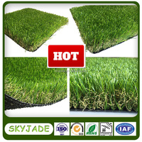 Pets artificial grass 13500 detx high density synthetic turf for garden decoration