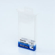 Clear Plastic Packaging Box for <strong>Mobile</strong> Phone Case Packaging / <strong>OEM</strong> Printed Small Plastic PVC Folding Box For Electronics