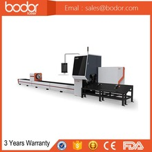 Bodor high efficiency and good performance cnc fiber metal cutting machine for stainless square tube and carbon tube