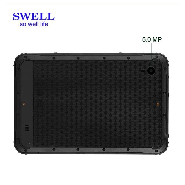 IP67 China 8inch rugged tablet pc android 7.0 OS 64gb with sim slot octa core phone call with metal case