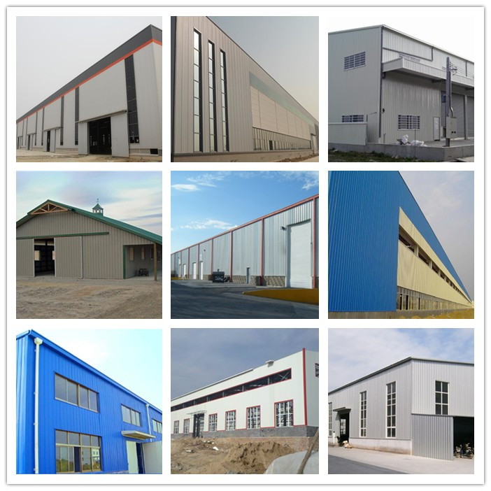 High quality types of steel trusses and steel construction warehouse