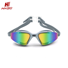 Professional swimming glasses custom wide vision swimming goggles with diopter