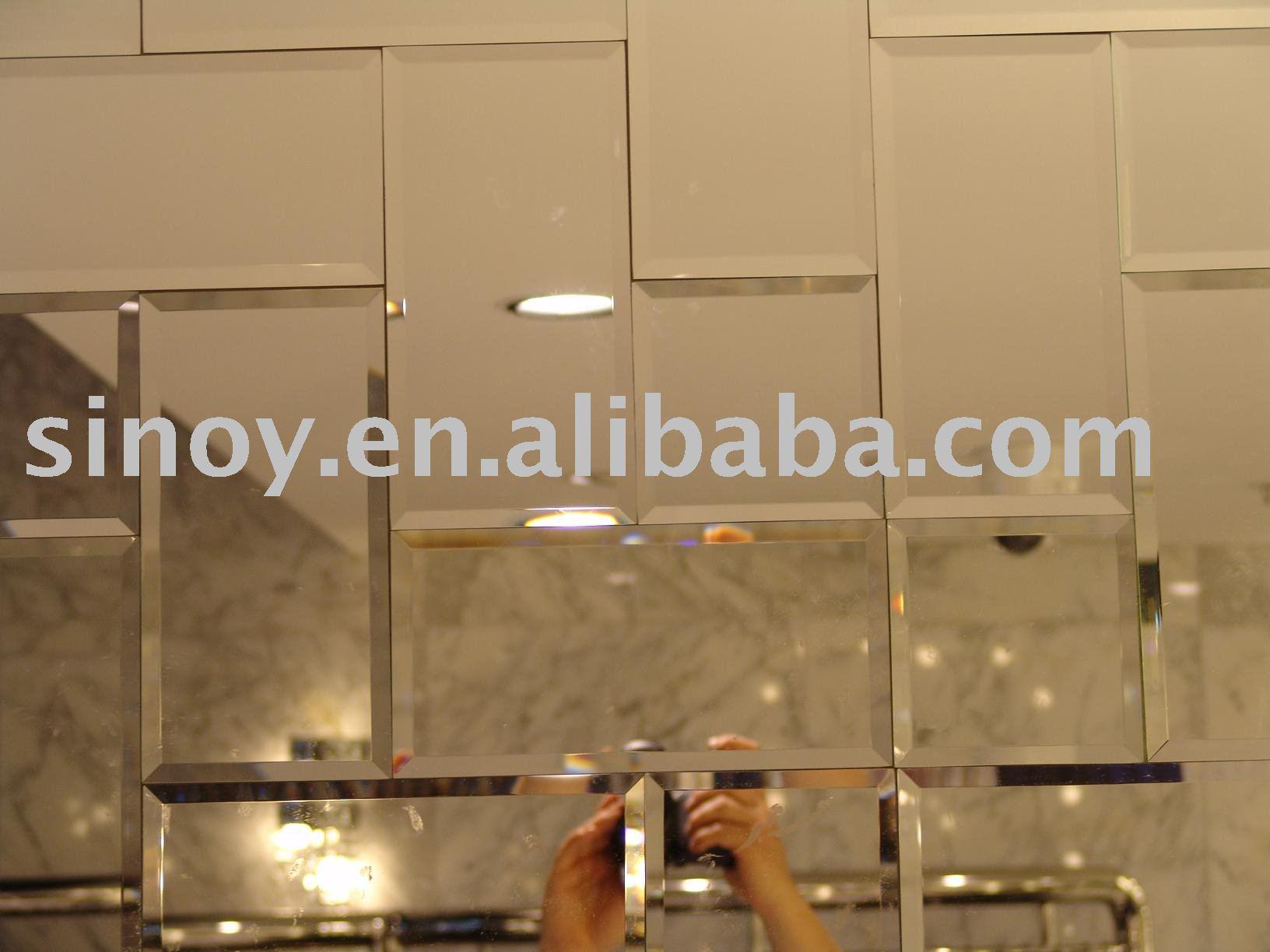 Chanfrado espelho do banheiro azulejo 125*125mm Espelhos ID do produto  #986833 1632x1224 Banheiro Azulejo Pintado