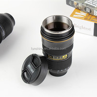 Camera Lens 24-70mm Zoomer Lens Coffee Mugs With Cover