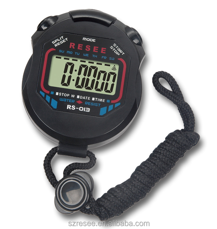 High Quality Plastic LCD Walking Running Lap Timer