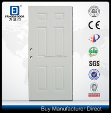 Fangda 6P high quality and low price steel door