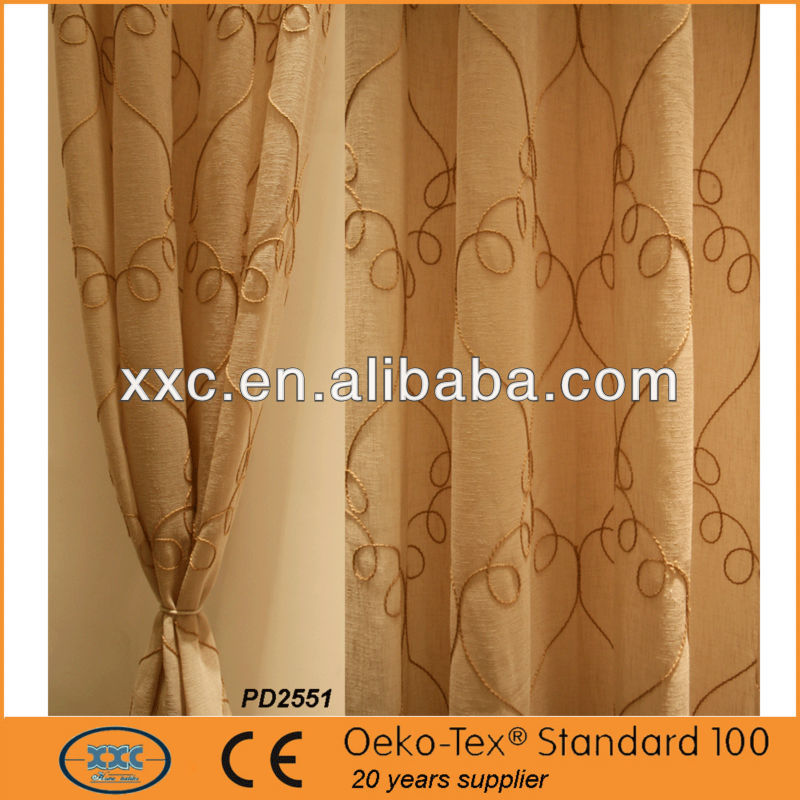 Embroidery Ribbon Window comforter set with matching curtains
