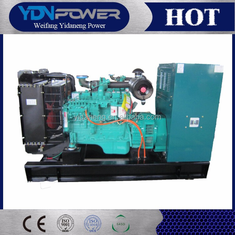 Yidaneng 60kw 75kva electric biogas alternator generator price