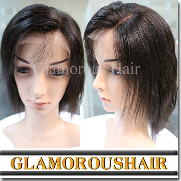 U part wig / india hair wig price / 100 percent pure human hair wig