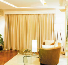 Motorized draperies, electric draperies, motorized draperies curtain