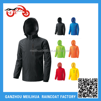 2016 Fashion Men's Waterproof Windbreaker Outdoor Hiking Runing Rain Jackets Hooded