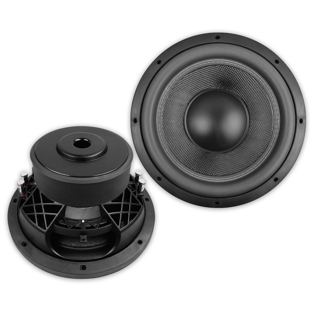 Glass fiber with Paper compound cone good sound 10 12 15 inch high power car speaker subwoofer