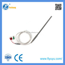 Fei long pt100 thermocouple and 3 Cable