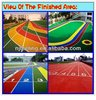 Running Track Material, Rubber Tracks For School And Sports Court FL-J-0323-8