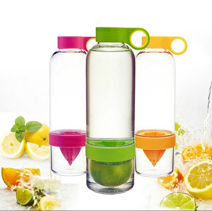 2016 popular series fruit infuser bottle <strong>water</strong>,lemon cup with handle