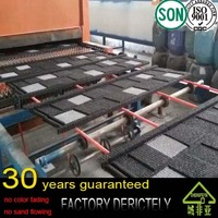 factory selling Cheap stone coated metal roof tile / roofing shingle / insulated panels for roofing prices