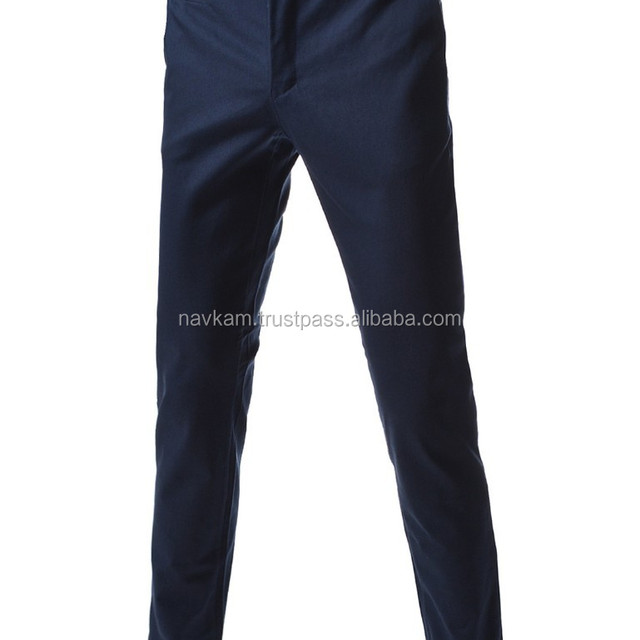 LUXURY SOFT COTTON FOR MEN 2015 95% COTTON, 5% SPANDEX/ MACHINE WASH NAVY