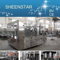 Small capacity water filler plastic bottling plant