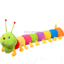 Fashion Cute Colorful Caterpillar Animal Toy Pillow Caterpillars Plush Stuffed Toys