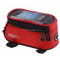 Wholesale waterproof bicycle front tube bag 12496