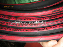 chemical suction and discharge hose