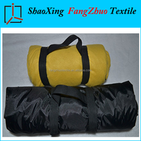 waterproof picnic blanket double layer blanket promotional blanket