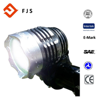 New 6400mAh 3 HOURS on Bright Beam Rechargeable Road Bike Headlight with free tail light