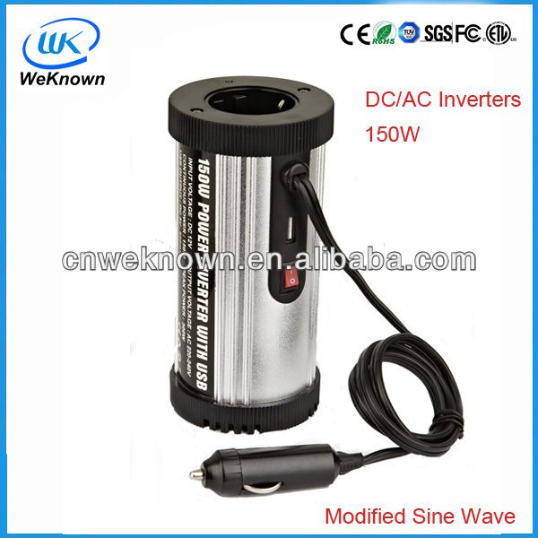 150W DC to AC Power Inverter With Modified Sine Wave