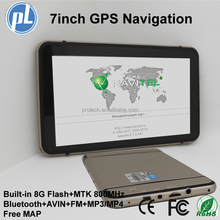 Best quality excellent price car gps navigation 7inch large screen vehicle gps navigator
