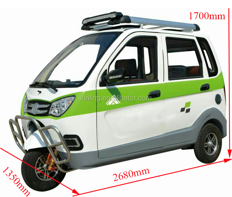 2018 new arrival china three wheel electric passenger model tricycle for sale