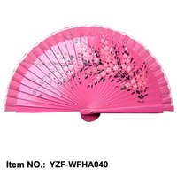 New designed custom printed folding fan hand chinese sandalwood china supplier