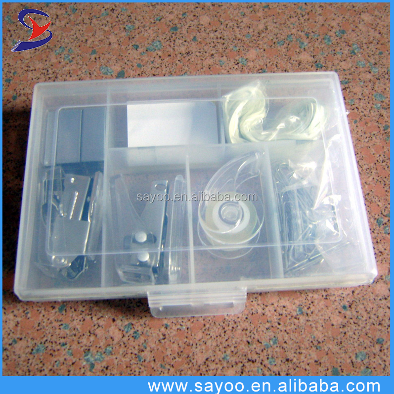 China whosale 6 In 1 Mini stationery set for school and office use